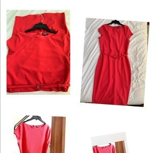 Express dress- used (one time)